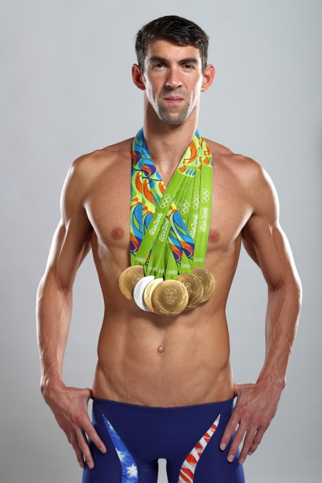 Michael Phelps Portrait Shoot